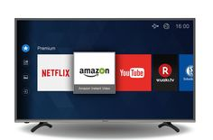 Hisense H43MEC3050 108 cm (43 Zoll) Fernseher (Ultra HD, Triple Tuner, DVB-T2 HD, DVB-T2 HD, Smart TV) schwarz: Amazon.de: Heimkino, TV & Video