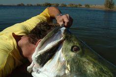 Not sure where he's fishin, but I Wana go!