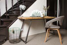 Working table reclaimed wood/bureautafel scheepshout