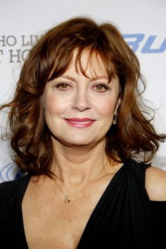 """Susan Sarandon (and her hair) are a perfect example of a woman who isn't afraid to age gracefully in Hollywood,"" says Pam Kelly, Senior Director of National Technical Education for Fantastic Sams. http://www.latest-hairstyles.com/advice/age-defying-hairstyle.html"