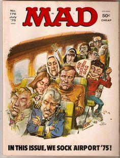 Mad Magazine - Number 176 - July 1975 - Airport '75 Movie Satire