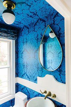 14 Stunning Bathrooms That Make a Big Statement | MyDomaine