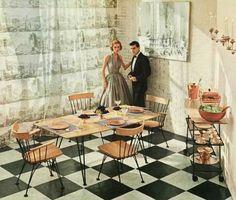 Modern Dining Room - 1955