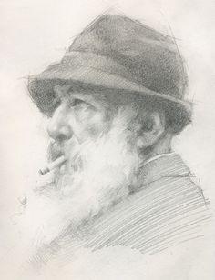 Sketch of Monet - Jeff Haines