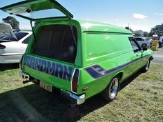 Mine had a roof spoiler! Australian Muscle Cars, Aussie Muscle Cars, Holden Muscle Cars, Cool Vans, Cars And Motorcycles, Dream Cars, Automobile, Cool Stuff, Mini Vans