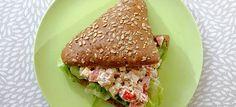 Broodje home made tonijnsalade (van La Place)