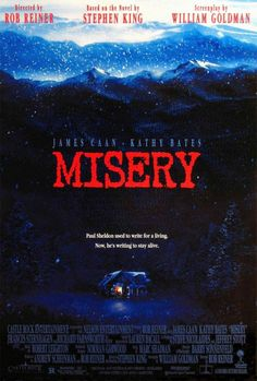Misery movie poster - Top horror films of the 90s at blankmaninc.com