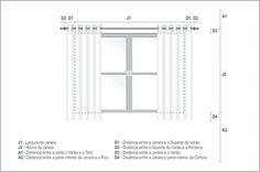 Precisa de cortinas novas e não sabe qual exatamente o tamanho que deve comprar? Preparamos um passo a passo para te ajudar. Para saber a medida ideal de cortina para sua janela, é necessário saber primeiro, o tamanho da janela onde você quer instalar a peça.  Sugestão 1: A cortina tem que ser, no …