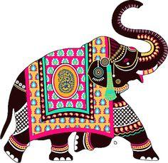 Kalamkari Painting, Madhubani Painting, Kerala Mural Painting, Indian Art Paintings, Elefante Hindu, Rajasthani Art, Pottery Painting Designs, Quirky Art, Madhubani Art