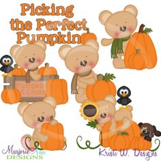 Picking The Perfect Pumpkin SVG Cutting Files Includes Clipart