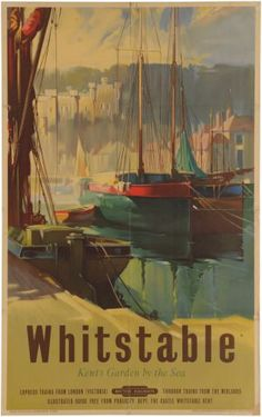 Whitstable Briitish Railways poster Anonymous 1950s.17
