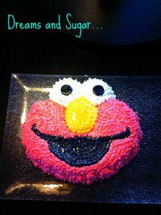 elmo's cake !