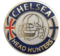 Made by Me Unionjack Head Hunter, Football Art, Chelsea Fc, Badge, Badges, Chelsea F.c., Chelsea