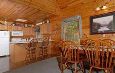 Pigeon Forge, TN: Pigeon Forge chalet rentals: Stonehenge Chalet 425 is a 3 bedroom, 3 bath cedar chalet located about 1 mile from downtown Pigeon Forge. This wonderful...