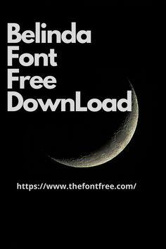 Belinda Font Free #BelindaCalligraphyFont #BelindaScriptFont #BelindaRegular #blendafont Best Calligraphy Fonts, Script S, Free Fonts Download