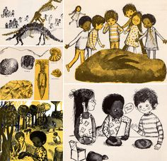 Fossils Tell of Long Ago by Aliki.  Published by Scholastic in 1972.