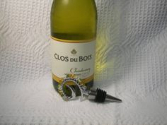Beaded Wine Stopper Shades of Gold Tones Swarovski by GagaGems, $15.00