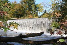 Glencoe Dam from Great Bend Park