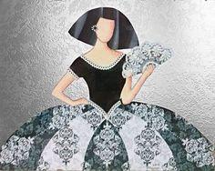 Cuadros Meninas Modernas | meninas | Pinterest