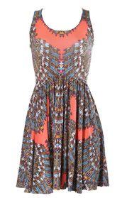 Mara Hoffman  Ibis Coral Ballerina Dress