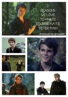 7 Reasons We Love to Hate Robbie Kay's Peter Pan