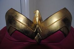 Wonder Woman Chest Plate by CuppCreations on Etsy, $60.00.