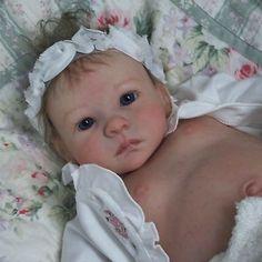 Doves Nursery Reborn Baby Girl. Sandra Maxwell sculpt