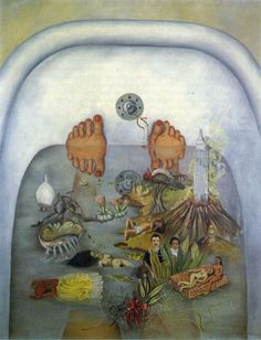 What I Saw in the Water (What the Water Gave Me), Frida Kahlo,1938