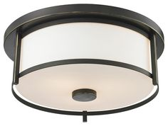The contemporary Savannah family adds sophistication to home décor. The beautifully appointed olde bronze fixture is perfectly paired with matte opal glass shades in this Two-Light semi flush mount. - Bulb (s) not included. Z-Lite - Flush Mount Lighting, Flush Mount Ceiling, Pendant Lighting, Home Depot, Ceiling Fixtures, Ceiling Lights, Light Fixtures, Residential Lighting, Thing 1