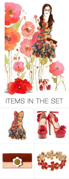 """""""Invisible Fashion Doll Set - Miss Poppy"""" by selene-cinzia ❤ liked on Polyvore featuring art"""