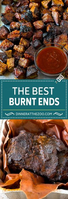 Frugal Food Items - How To Prepare Dinner And Luxuriate In Delightful Meals Without Having Shelling Out A Fortune Burnt Ends Recipe Smoked Brisket Beef Brisket Baked Brisket, Beef Brisket Recipes, Smoked Beef Brisket, Smoked Meat Recipes, Barbecue Recipes, Grilling Recipes, Bbq Beef, Brisket Rub, Brisket Recipe Smoker