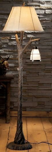 Hanging Lantern Floor Lamp