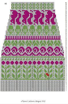 Knitting Stitches, Knitting Socks, Knitting Patterns, Crochet Patterns, Fair Isle Pattern, Wool Socks, Mittens, Knit Crochet, Cross Stitch