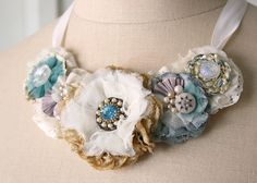 Hey, I found this really awesome Etsy listing at https://www.etsy.com/listing/101532502/floral-statement-necklace-in-aquamarine