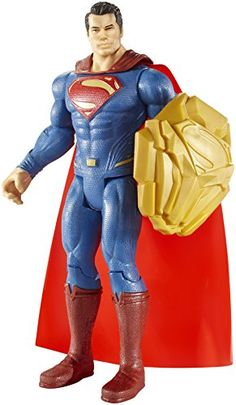 Batman v Superman Dawn of Justice Shield Clash Superman 6 Figure * Check out this great product.