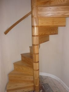 Diy Space Saving Staircase | Found On Curvedstaircase.co.uk · Deer ParkLoft  ...