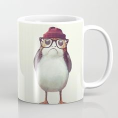 Mr. Porg Coffee Mug by andywynn. Worldwide shipping available at Society6.com. Just one of millions of high quality products available.