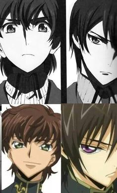 Code Geass - Suzaku and Lelouch