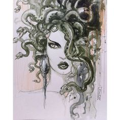 Medusa mythology history inkandpen