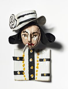 Coco Chanel is nuts about fashion, by Donald Drawbertson