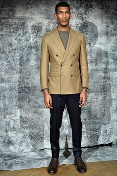 Catwalk photos and all the looks from Thom Sweeney Autumn/Winter 2016-17 Menswear London Fashion Week