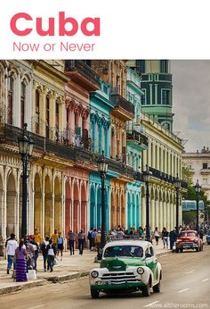 Travel Cuba - For travelers who want to explore Cuba, now is the time to do it. Ph: Pedro Szekely  https://www.flickr.com/photos/pedrosz/32973275555/in/photostream/