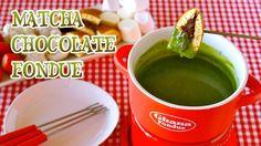 Matcha Chocolate Fondue 抹茶チョコレートフォンデュ - OCHIKERON - CREATE EAT HAPPY