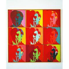 Andy Warhol au Musée d'Art Moderne - Paris - France