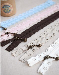Hey, I found this really awesome Etsy listing at http://www.etsy.com/listing/120922655/vintage-easy-on-laced-colourful-zippers