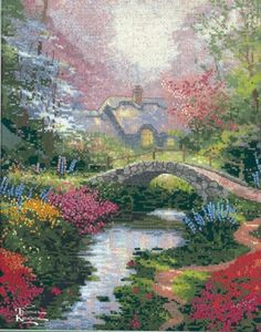 Thomas Kinkade's Brookside Hideaway