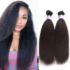 Peruvian Kinky Straight Hair Weave 100g/Bundles Coarse Light Yaki Virgin Hair Italian Yaki Human Hair Bundles-in Human Hair Extensions from Health & Beauty on Aliexpress.com | Alibaba Group