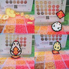 微博 Pearler Beads, Projects To Try, Chinese, Japanese, Hat, Inspiration, Ideas, Chip Hat, Biblical Inspiration