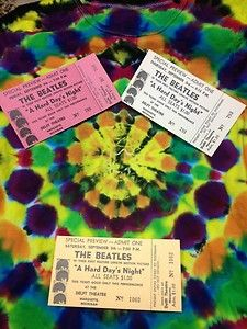 Beatles tickets tickets tickets!