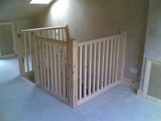 stairs for a loft attic room